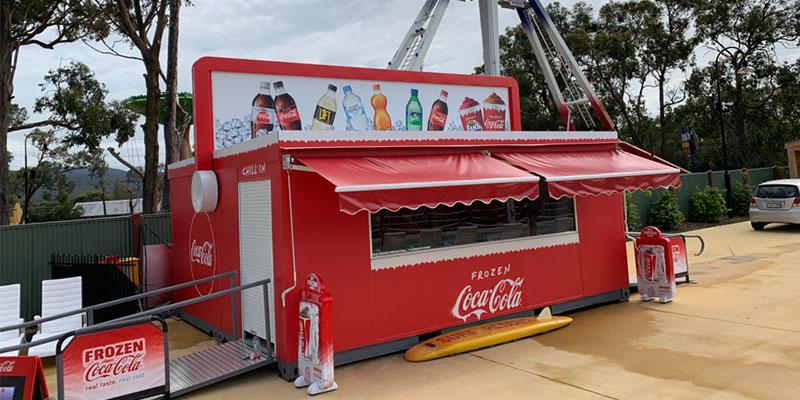 Coca Cola Kiosk box