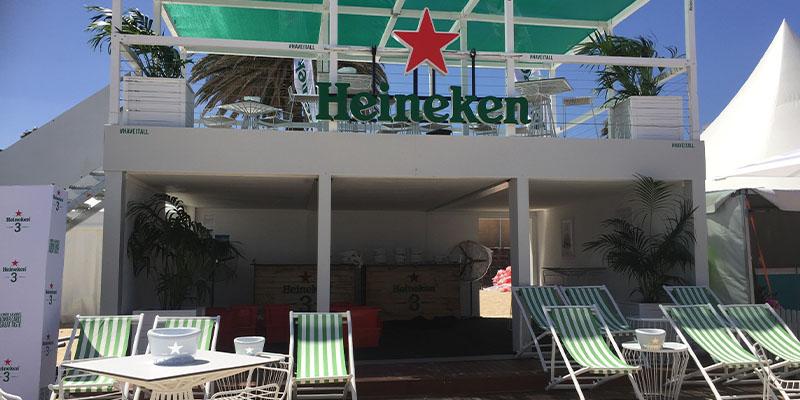 Heineken Top Deck Bar- St Kilda Beach